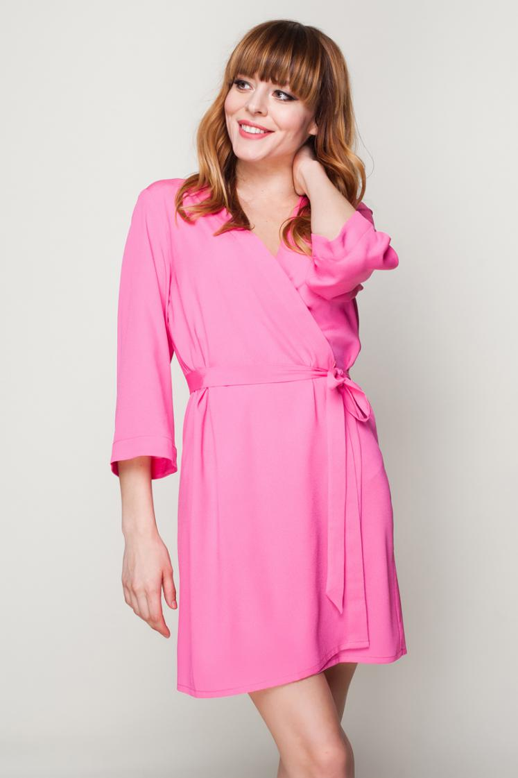 Hot Pink Robe | bunnystreet.com