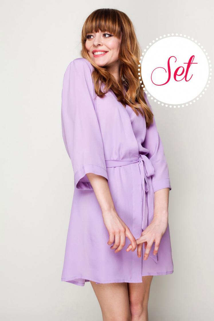 lilac bridesmaid robes - 747×1121